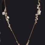 MKA103 14K gf wired pearl necklace $390
