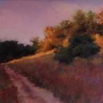 Follow the Path 11 x 14 Pastel $695
