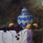 Blue and White Jar 20 X 16 Oil  $2240 SOLD
