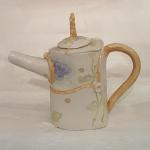 Leaf and Vine Teapot Back View