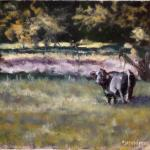 Country Living J. P. Childress 9 x 12 Oil  $475