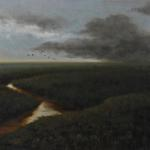 Storm on the Marsh Tim Schneider 22 x 28 Oil  $3200