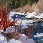 Winter Colors - Third Place Jeanne Reavis 12 x 16 Oil on Linen Panel  $975