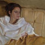 Repose Jody Anderson 18 x 24 Oil on Linen  $2200