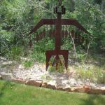 Kachina Warrior 69 X 12 X 78 Steel $1800