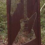 Guitar Solo 28.5 X 2 X 74 Steel $1500 for single screen Multiple screens to be quoted.