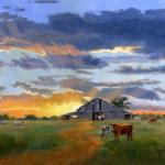 When the Cows Come Home 12 x 16 OIl $96-