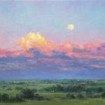 Moonrise Number Two 16 x 20 Oil $1600