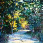 Escape Into the Woods 20 x 16 Oil $1650