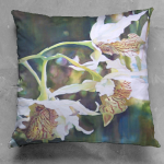 Hidden Gifts Luster Square Pillow