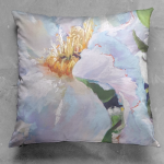 Light Dancer Square Luster Pillow