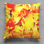 Hot Cha Square Pillow