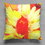Hot Cha 2 Square Pillow