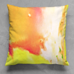 Hot Cha Abstract Square Pillow
